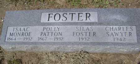 FOSTER, ISAAC MONROE - Lawrence County, Arkansas | ISAAC MONROE FOSTER - Arkansas Gravestone Photos