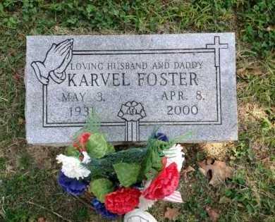 FOSTER, KARVEL - Lawrence County, Arkansas | KARVEL FOSTER - Arkansas Gravestone Photos