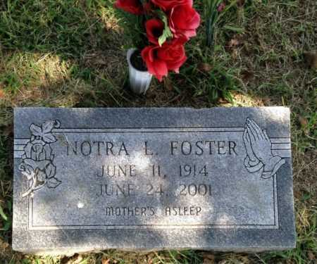 FOSTER, NOTRA LUCILLE - Lawrence County, Arkansas | NOTRA LUCILLE FOSTER - Arkansas Gravestone Photos