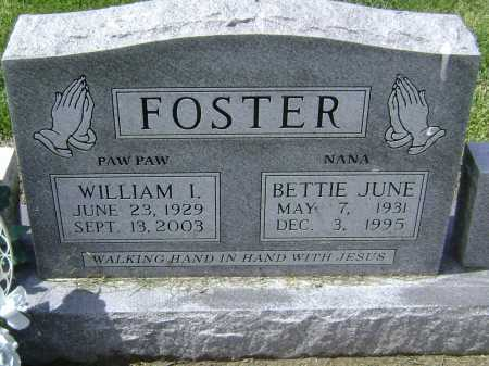 FOSTER, WILLIAM ISAAC - Lawrence County, Arkansas | WILLIAM ISAAC FOSTER - Arkansas Gravestone Photos