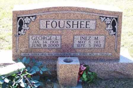 FOUSHEE, GEORGE L. - Lawrence County, Arkansas   GEORGE L. FOUSHEE - Arkansas Gravestone Photos