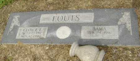 HACKER FOUTS, BAMA - Lawrence County, Arkansas | BAMA HACKER FOUTS - Arkansas Gravestone Photos