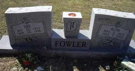 FOWLER, AUBREY DEE - Lawrence County, Arkansas | AUBREY DEE FOWLER - Arkansas Gravestone Photos