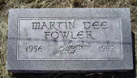 """FOWLER, MARTIN DEE """"MARTY"""" - Lawrence County, Arkansas 