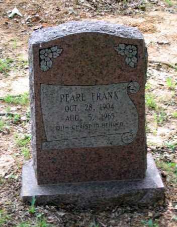FRANK, KITTIE PEARL - Lawrence County, Arkansas | KITTIE PEARL FRANK - Arkansas Gravestone Photos