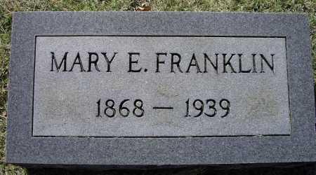 "WILLIAMS FRANKLIN, MARY ELIZABETH ""LIZZIE"" - Lawrence County, Arkansas | MARY ELIZABETH ""LIZZIE"" WILLIAMS FRANKLIN - Arkansas Gravestone Photos"