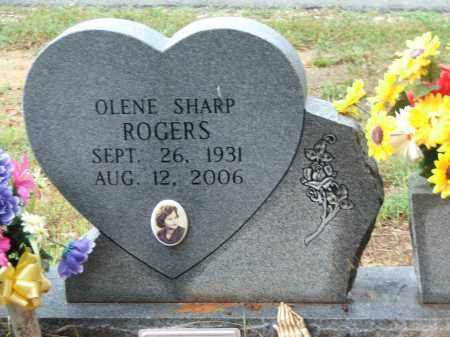 ROGERS, OLENE SHARP VOYLES - Lawrence County, Arkansas   OLENE SHARP VOYLES ROGERS - Arkansas Gravestone Photos