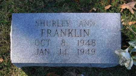 FRANKLIN, SHURLEY ANN - Lawrence County, Arkansas | SHURLEY ANN FRANKLIN - Arkansas Gravestone Photos