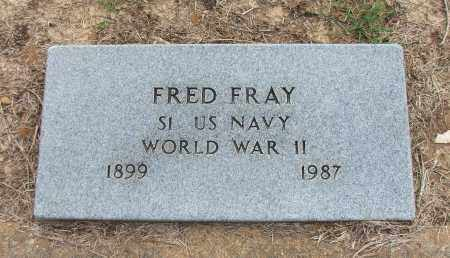 FRAY (VETERAN WWII), FRED - Lawrence County, Arkansas | FRED FRAY (VETERAN WWII) - Arkansas Gravestone Photos