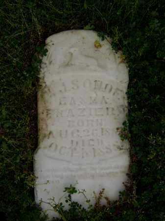 FRAZIER, W. J. - Lawrence County, Arkansas   W. J. FRAZIER - Arkansas Gravestone Photos