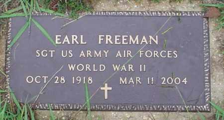 FREEMAN (VETERAN WWII), EARL - Lawrence County, Arkansas   EARL FREEMAN (VETERAN WWII) - Arkansas Gravestone Photos