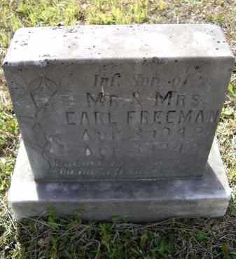 FREEMAN, INFANT SON - Lawrence County, Arkansas | INFANT SON FREEMAN - Arkansas Gravestone Photos