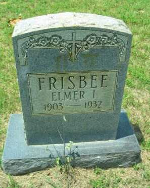 FRISBEE, ELMER ISAAC - Lawrence County, Arkansas | ELMER ISAAC FRISBEE - Arkansas Gravestone Photos