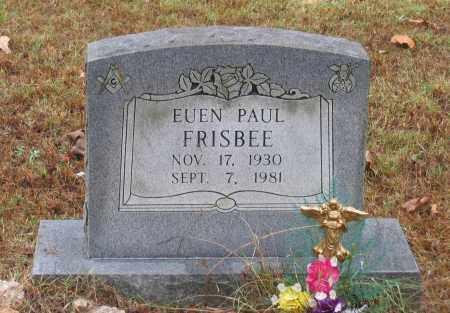 FRISBEE, EUEN PAUL - Lawrence County, Arkansas   EUEN PAUL FRISBEE - Arkansas Gravestone Photos