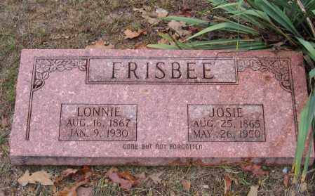 "FRISBEE, ISAAC LEONDIAS ""LONNIE"" - Lawrence County, Arkansas 