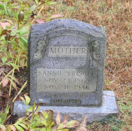"RATLIFF FRISBEE, MARTHA FRANCES ""FANNIE"" - Lawrence County, Arkansas | MARTHA FRANCES ""FANNIE"" RATLIFF FRISBEE - Arkansas Gravestone Photos"