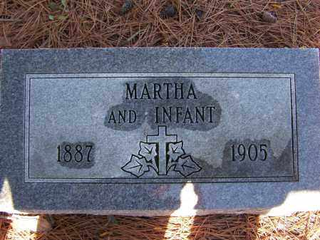 JAMES, MARTHA AND HER INFANT - Lawrence County, Arkansas | MARTHA AND HER INFANT JAMES - Arkansas Gravestone Photos