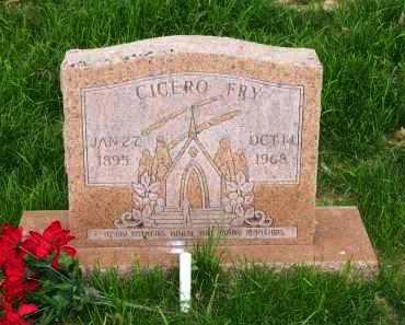 FRY, CICERO - Lawrence County, Arkansas | CICERO FRY - Arkansas Gravestone Photos