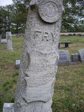 FRY, JOHN A. - Lawrence County, Arkansas   JOHN A. FRY - Arkansas Gravestone Photos