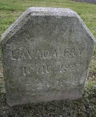 FRY, LAVADA - Lawrence County, Arkansas | LAVADA FRY - Arkansas Gravestone Photos