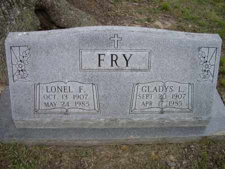 FRY, LONEL F. - Lawrence County, Arkansas | LONEL F. FRY - Arkansas Gravestone Photos
