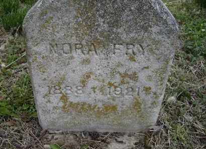 WHITTAKER FRY, NORA M. - Lawrence County, Arkansas | NORA M. WHITTAKER FRY - Arkansas Gravestone Photos