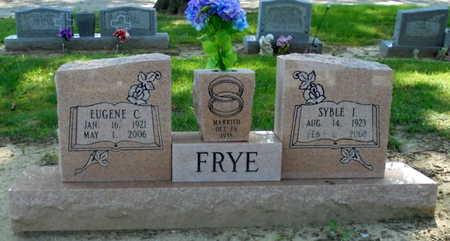 FRYE, EUGENE CARTER - Lawrence County, Arkansas | EUGENE CARTER FRYE - Arkansas Gravestone Photos
