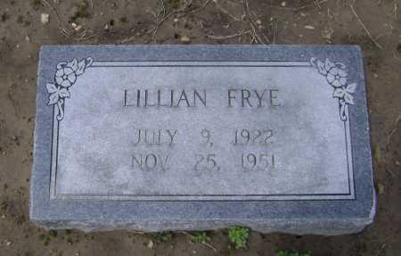 FRYE, LILLIAN - Lawrence County, Arkansas   LILLIAN FRYE - Arkansas Gravestone Photos