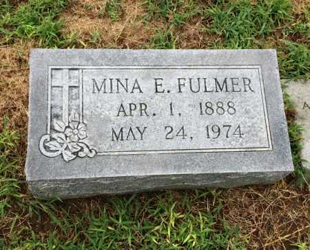 FULMER, MINA E. - Lawrence County, Arkansas | MINA E. FULMER - Arkansas Gravestone Photos