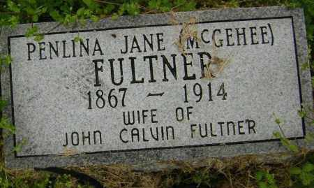 MCGEHEE FULTNER, PENLINA JANE - Lawrence County, Arkansas | PENLINA JANE MCGEHEE FULTNER - Arkansas Gravestone Photos