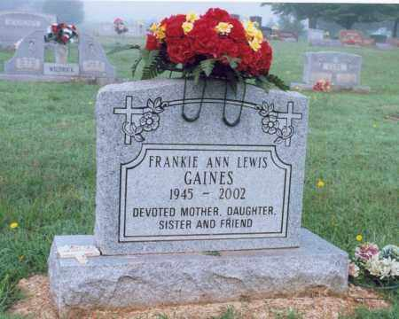 GAINES, FRANKIE ANN - Lawrence County, Arkansas | FRANKIE ANN GAINES - Arkansas Gravestone Photos