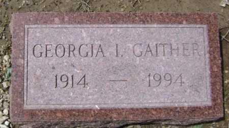 GAITHER, GEORGIA IRENE - Lawrence County, Arkansas | GEORGIA IRENE GAITHER - Arkansas Gravestone Photos