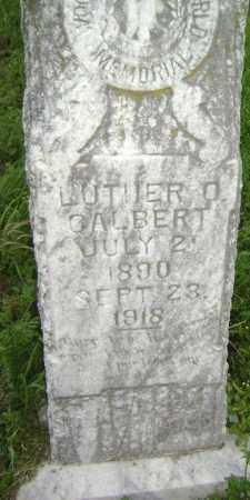GALBERT, LUTHER O - Lawrence County, Arkansas   LUTHER O GALBERT - Arkansas Gravestone Photos
