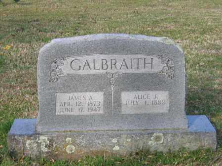 GALBRAITH, JAMES A. - Lawrence County, Arkansas | JAMES A. GALBRAITH - Arkansas Gravestone Photos