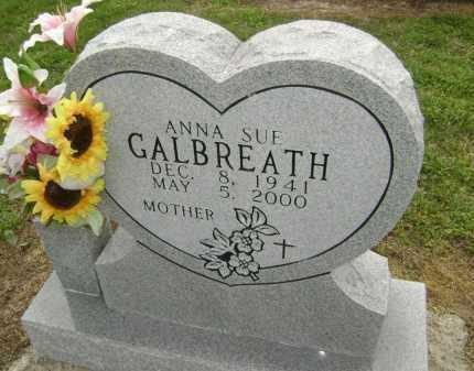 GALBREATH, ANNA SUE - Lawrence County, Arkansas   ANNA SUE GALBREATH - Arkansas Gravestone Photos