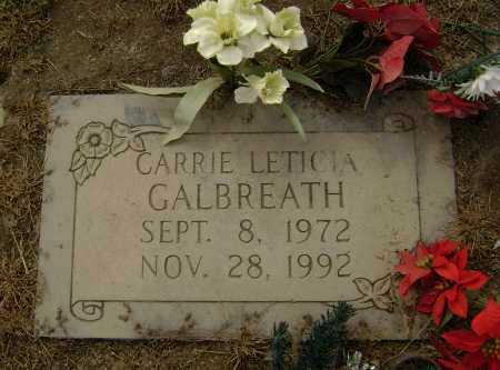 GALBREATH, CARRIE LETICIA - Lawrence County, Arkansas | CARRIE LETICIA GALBREATH - Arkansas Gravestone Photos
