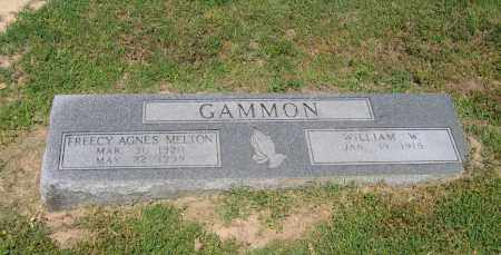GAMMON, FREECY AGNES - Lawrence County, Arkansas   FREECY AGNES GAMMON - Arkansas Gravestone Photos