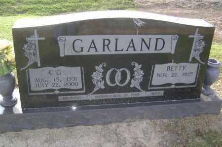 GARLAND, C. G. - Lawrence County, Arkansas | C. G. GARLAND - Arkansas Gravestone Photos
