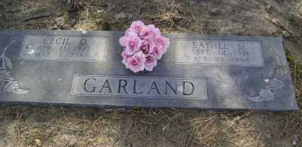 GARLAND, EATHEL M - Lawrence County, Arkansas | EATHEL M GARLAND - Arkansas Gravestone Photos