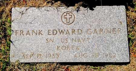 GARNER (VETERAN KOR), FRANK EDWARD - Lawrence County, Arkansas   FRANK EDWARD GARNER (VETERAN KOR) - Arkansas Gravestone Photos