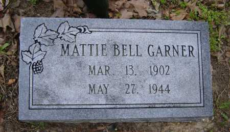 GARNER, MATTIE BELL - Lawrence County, Arkansas | MATTIE BELL GARNER - Arkansas Gravestone Photos