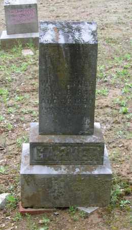 GARNER, W. RILEY - Lawrence County, Arkansas | W. RILEY GARNER - Arkansas Gravestone Photos