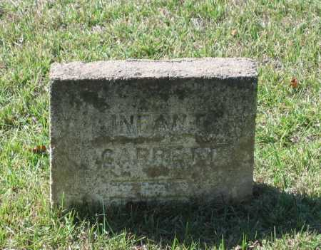 GARRETT, INFANT - Lawrence County, Arkansas | INFANT GARRETT - Arkansas Gravestone Photos