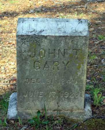 GARY, JOHN T. - Lawrence County, Arkansas | JOHN T. GARY - Arkansas Gravestone Photos