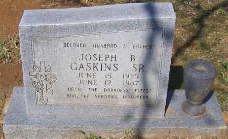 GASKINS, SR., JOSEPH B. - Lawrence County, Arkansas   JOSEPH B. GASKINS, SR. - Arkansas Gravestone Photos
