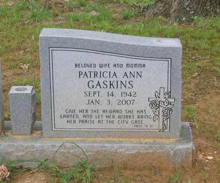 BURNS, PATRICIA ANN MEREDITH GASKINS - Lawrence County, Arkansas | PATRICIA ANN MEREDITH GASKINS BURNS - Arkansas Gravestone Photos