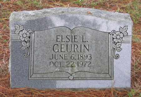 GEURIN, ELSIE L. - Lawrence County, Arkansas | ELSIE L. GEURIN - Arkansas Gravestone Photos