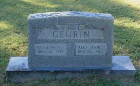 "GEURIN, ELIJAH WATSON ""WATT"" - Lawrence County, Arkansas | ELIJAH WATSON ""WATT"" GEURIN - Arkansas Gravestone Photos"
