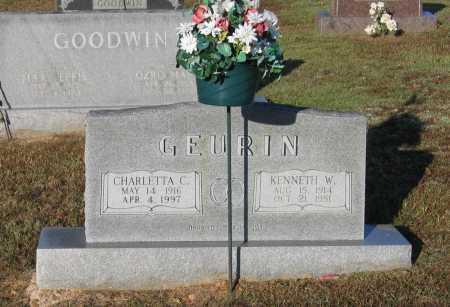 GEURIN, CHARLETTA CORNELIA - Lawrence County, Arkansas | CHARLETTA CORNELIA GEURIN - Arkansas Gravestone Photos