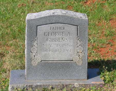 GIBBENS, GEORGE ALLEN - Lawrence County, Arkansas | GEORGE ALLEN GIBBENS - Arkansas Gravestone Photos